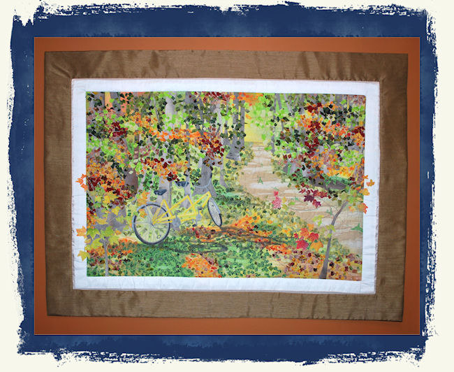 custom made art quilts, greeting cards, custom gifts, embroidery and digitizing